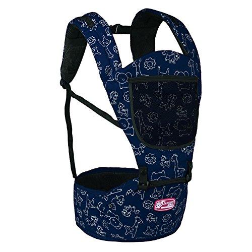 WANGXN Baby-Geschirr-Sicherheit Und Bequemer Sitz-Multifunktionssommer-Breathable Babysitz,Blue