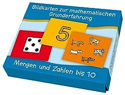 Mengen und Zahlen bis 10 (Bildkarten zur mathematischen Grunderfahrung)