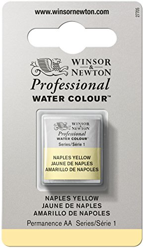 winsor-newton-half-pan-professional-water-colour-naples-yellow