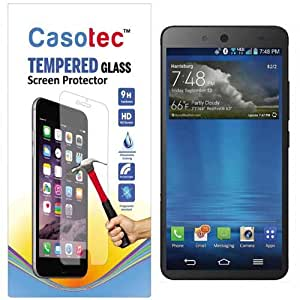 Casotec Tempered Glass Screen Protector for Micromax Canvas Juice 3 Q392