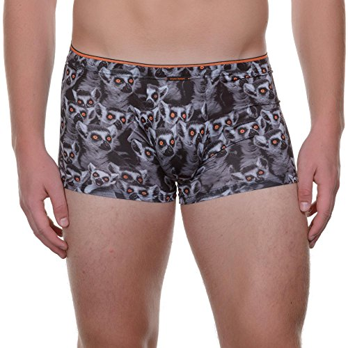 Bruno Banani Herren Pants Short Lemurs, Animalprint, Gr. Large (Herstellergröße:6/L), Mehrfarbig (lemurs Print 2129)