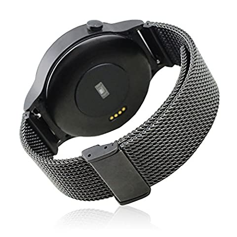 18MM Netzarmband Milanaise Edelstahl Bänder Bügel für Huawei Uhr 42mm Smart Watch