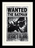 Pyramid International MP11085P-PL Batman Arkham Origins (Wanted) montiert und gerahmt, Mounted 250 GSM Paperwrap MDF, Mehrfarbig, 44 x 33 x 4 cm