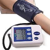 GAIHU parte superior del brazo portátil Tensiómetro Digital multifunción de LCD cómoda para Medicina Familiar y adulto (no incluye batería)