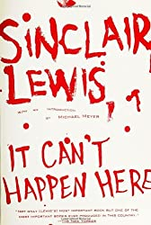 It Can't Happen Here by Sinclair Lewis (2005-10-04)