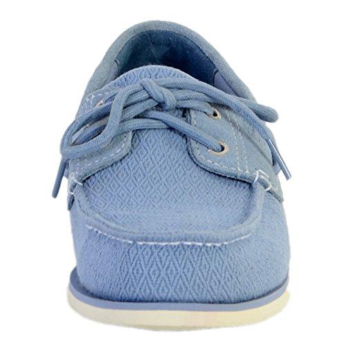 Chaussure Timberland Classic Fabric/ Leath Infi Bleu