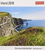 Irland - Kalender 2019: Sehnsuchtskalender, 53 Postkarten