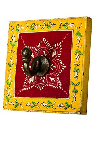 Vintage Garderobe Kleiderhaken Istari 1 Klein 10cm groß 1er Haken | Hakenleiste Wandhaken für die...