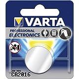"""VARTA Lot de 10 Blister de 1 Pile bouton lithium """"Electronics"""" 3 Volt CR2016"""