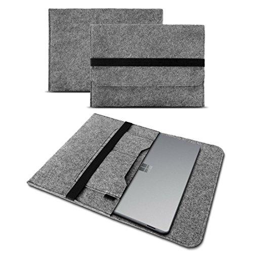 UC-Express Laptoptasche Ultrabook Filz Sleeve Hülle für 17' 17.3' Zoll Notebook Cover Case