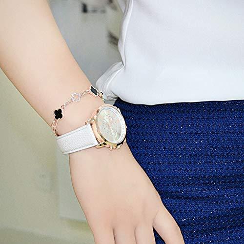 134a642cf Moderno reloj de cuarzo analógico para mujer, modelo Ginebra. Reloj doble,  con pila