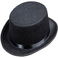 Top Felt Child Size - Black Felt Top Hats Caps & Headwear for Fancy Dress Costumes  Accessory