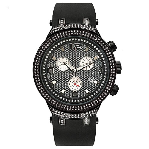 Joe Rodeo Diamant Homme Montre - MASTER noir 2.2 ctw