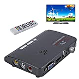 Nadalan HD 1080P VGA DVB-T / T2 AV alla custodia TV VGA con supporto HDMI MPEG4 VGA HDMI