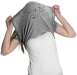 Women's Koala Bear Flip T Shirt Funny Koalas Tee Costume Shirt For Women from Crazy Dog Tshirts