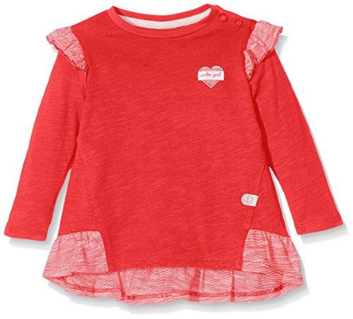 s.Oliver Baby - Mädchen Langarmshirt T - SHIRT LANGARM 65.707.31.7181, Einfarbig, Gr. 80, Rosa (Purple/Pink )