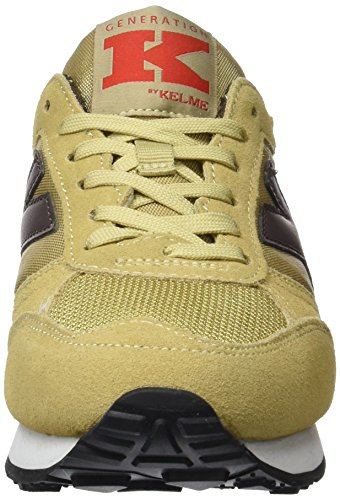 Kelme Charles, Baskets Basses Mixte Adulte Beige (beige / marron)