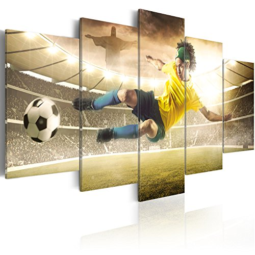 murando - Cuadro en Lienzo 200x100 cm - Impresion en calidad fotografica - Cuadro en lienzo tejido-no tejido - Futbol 020114-1