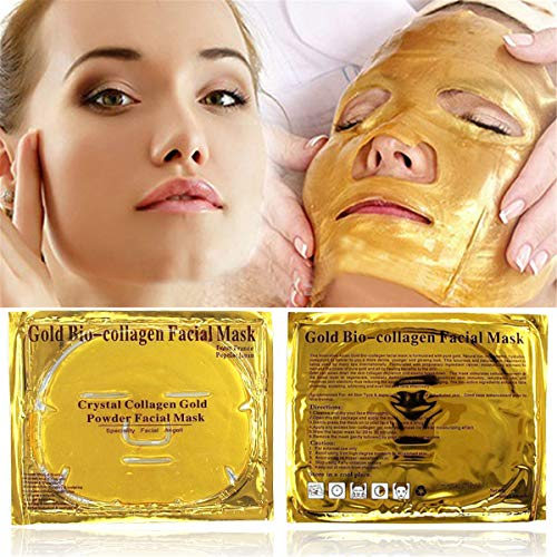Masque facial bio-collagène doré Masque hydratant hydratant anti-âge