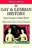 Gay & Lesbian Gay & Lesbian History