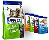 Happy Cat Weide Lamm 10 kg + 4x 300g