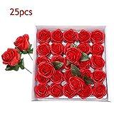 ARTE Topiaria Palla Luce Da Giardino Rose Decorazione da appendere bosso Solare 20 LED