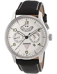 Junkers Herren-Armbanduhr XL G 38 Analog Automatik Leder 69604