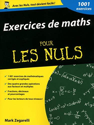 Exercices de maths pour les Nuls