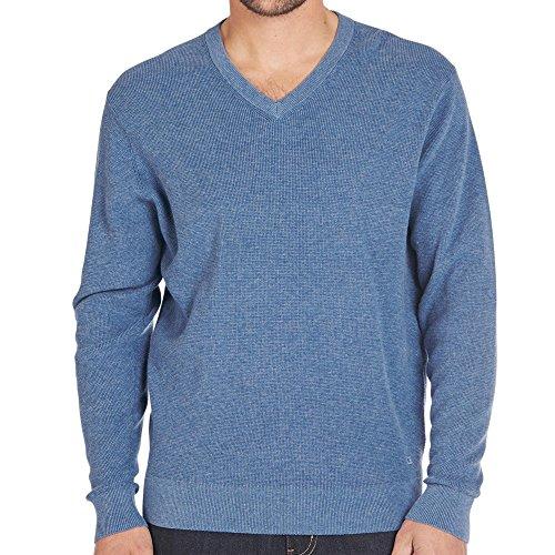 CASAMODA Herren Pullover Blau (Blau 140)