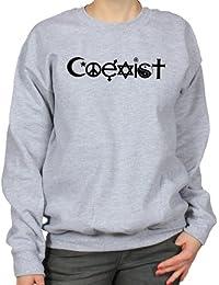 Coexist World Peace Womens Sweatshirt