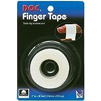 "Unique Doc Dry Skin White Mesh Finger Wrap Sports Tape Adhesive Bandage - 1""x30'"