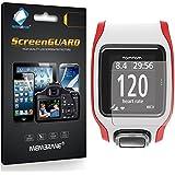 3 x Membrane Films de protection ecran TomTom Multi-Sport GPS Watch - Ultra clair autocollants, avec kit d'installation