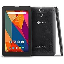 Yuntab E706 - Tablet de 7 pulgadas, 1,3GHZ Quad-Core, 8GB, Resolución HD de 1024x600, Google Android 5.1 , Dual SIM, 3G+WIFI (E706, Negro)