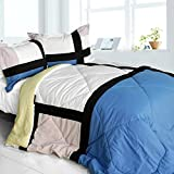 Best Sets Croscill Couette - Luxe [Home] matelassé patchwork Duvet Alternative Couette, Microfibre Review