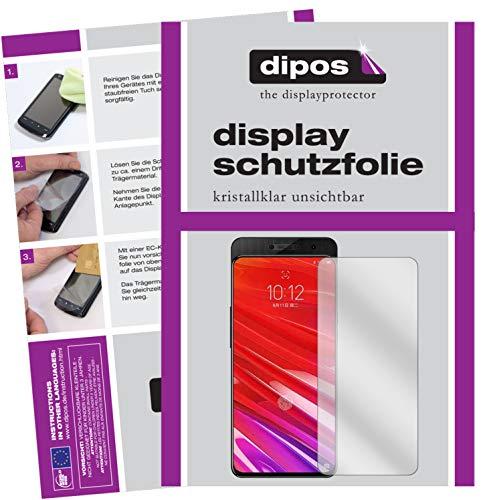 dipos I 4X Schutzfolie klar passend für Lenovo Z5 Pro GT Folie Bildschirmschutzfolie (2X Vorderseite + 2X Rückseite)