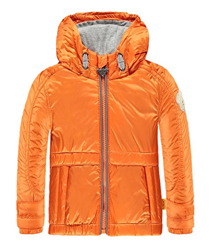 Steiff Baby-Jungen Jacke Anorak Orange (Mandarin Orange 4650), 86