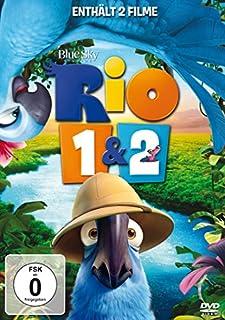 Rio / Rio 2 - Dschungelfieber [2 DVDs]