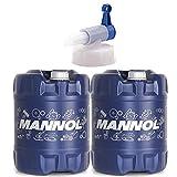 MANNOL 40 Liter, Diesel TDI 5W-30 Dieselmotorenöl DPF C3