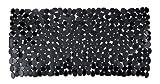 Wenko 20274100 Wanneneinlage Paradise Black, Kunststoff, Schwarz