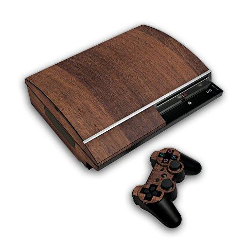 """Preisvergleich Produktbild Skin Sony Playstation 3 """"FX-Wood-Teak"""" Designfolie Sticker"""