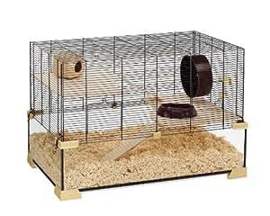 Ferplast Karat 80 Cage en verre pour rongeur 78,5 x 45,5 x 52,5 cm