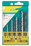 Wolfcraft 7731000 - Set combinato punte per trapano, 9 pezzi