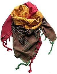 echarpe Foulard rasta Palestinien Keffieh Chèche Pashmina reggae jamaique  110x90 cm femme homme hiver c4010ca6394