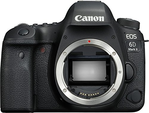 Canon EOS 6D Mark II 26.2MP Digital SLR Camera Body