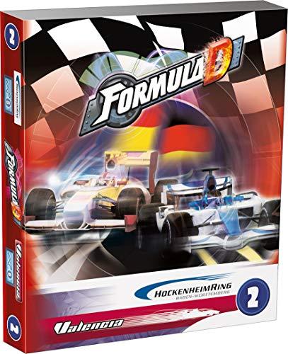 Asmodee 200710 - Formula D Erweiterung 2 - Hockenheim/Valencia (Formel E-brettspiel)