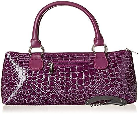primeware isotherme pour bouteille de vin embrayage sac à déjeuner, violet, Taille unique