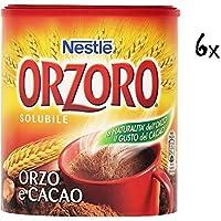 6x Nestle Orzoro Bebida Instantánea de Cebada y Cacao 180g