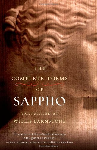 The Complete Poems of Sappho by Willis Barnstone (2009-04-01)