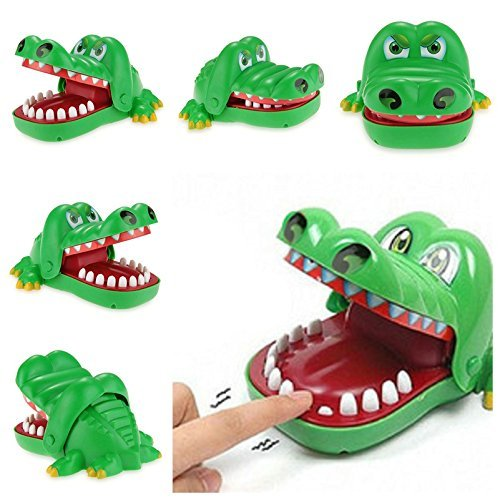 Kingtoys Crocodile Bite Finger Pull Teeth Game Children Kid Toy Gift