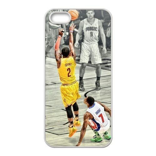 Custom Cover Case for iPhone 5,iPhone 5s w/ Kyrie Irving